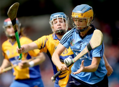 Clare's Aoife Keane and Rose Collins of Dublin.