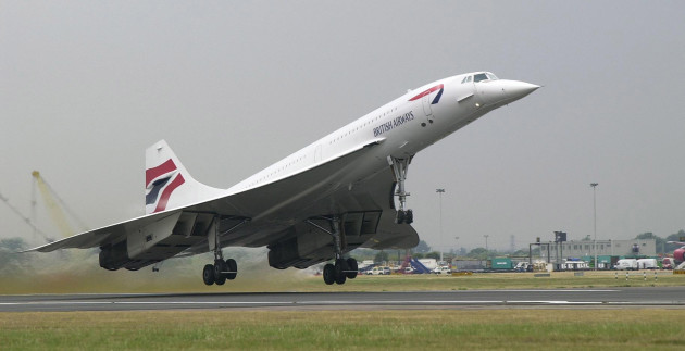 Concorde test flight