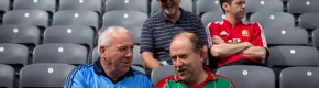 Dublin and Mayo fans were VERY keen to get their hands on replay tickets