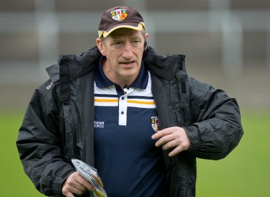 Kevin Ryan will vacate the Antrim senior and U21 posts.