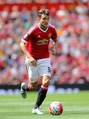 Darmian pictured in action against Tottenham on Saturday.