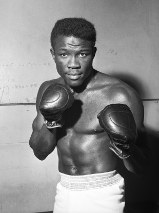 World welter-weight champion Emile Griffith pictured in 1964.