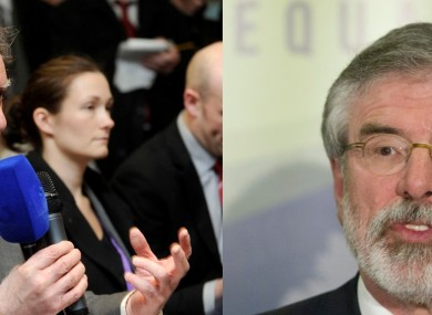 Vincent Browne says he first met Gerry Adams over 40 years ago.