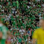 The Irish fans enjoyed their trip to Faro.<span class=