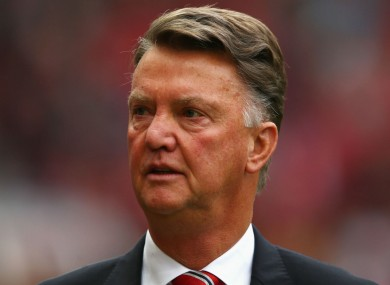 Manchester United boss Louis van Gaal expressed delight after his team won today.