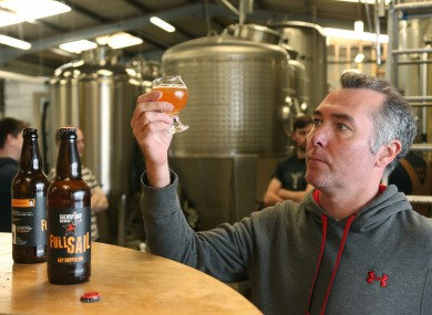 Galway Bay Brewery co-founder Niall Walsh