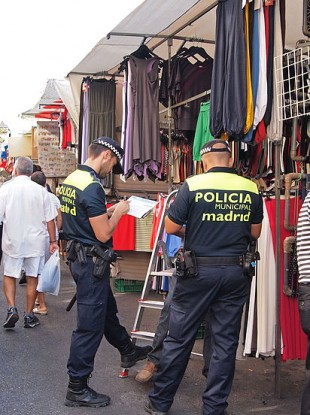 Photo: file picture of police in Madrid