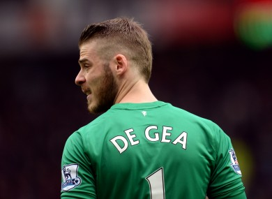 De Gea was reportedly moments away from signing for Real Madrid.