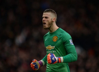 De Gea has signed on for four more years.