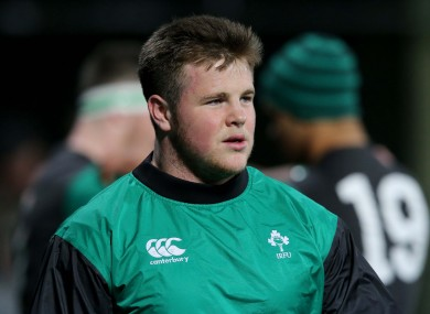 O'Donnell has been part of the Irish U20 set-up in 2015.