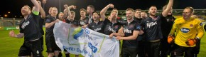 Late drama secures title and a piece of history for all-conquering Dundalk