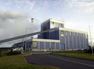 Endenderry electricity power station