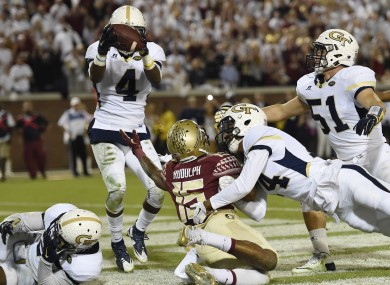 Georgia Tech shocked Florida State last night.