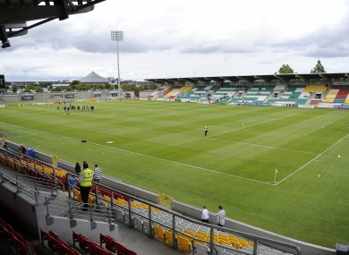 Shamrock Rovers are the anchor tenants.