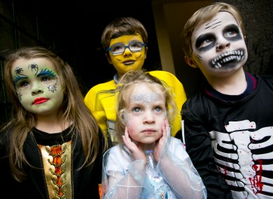 Pictured (L to R): Sienna Maria Finn (4), Jack Dunne (5), Caoila Griffin (2) and Rían Griffin (4).