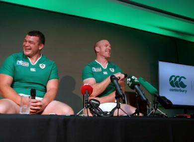 McGrath says O'Connell's craic will be missed in the team room.