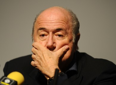 Criminal proceedings have been launched against Blatter.