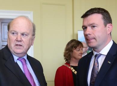 Michael Noonan and Alan Kelly