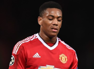 Manchester United forward Anthony Martial came in for criticism from Paul Scholes.
