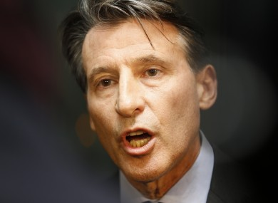 Coe announced his decision after a meeting on Thursday.