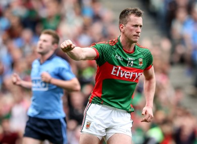 Cillian O'Connor will be sidelined for up to six months.