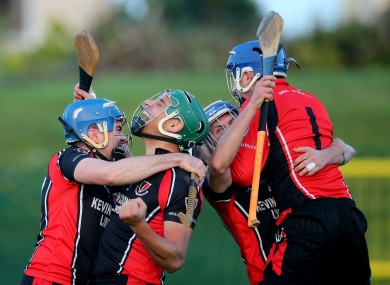 Joy for Keith Rossiter and Oulart-the-Ballagh at the final whistle.
