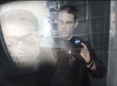 Minority Report depicted a number of future technologies including gesture-based computer interactions, but a more advanced version of that may find its way to VR.
