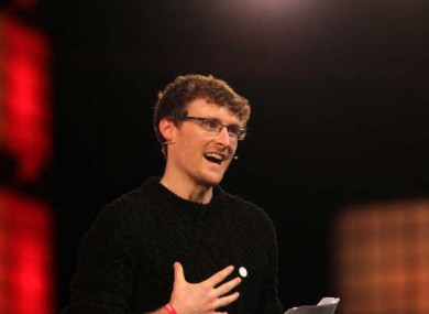 Web Summit founder and CEO Paddy Cosgrave