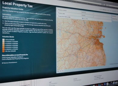 The local property tax website