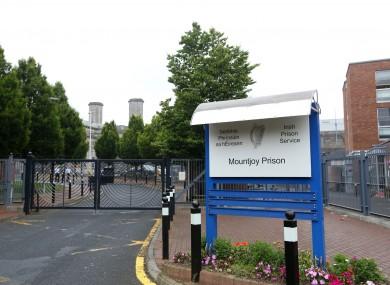 File photo: Mountjoy Prison in Dublin
