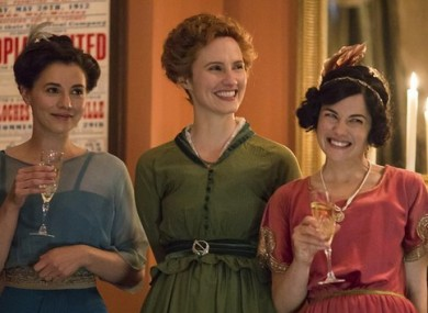 Charlie Murphy as Elizabeth, Ruth Bradley as Frances and Sarah Greene as May.
