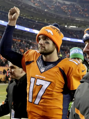 Osweiler threw for 299 yards with one TD and no interceptions.