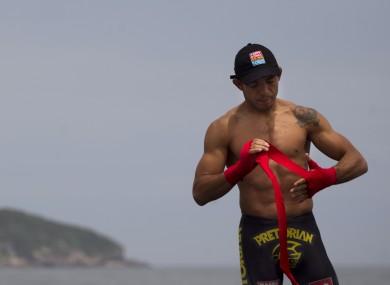 Reigning UFC featherweight champion Jose Aldo.