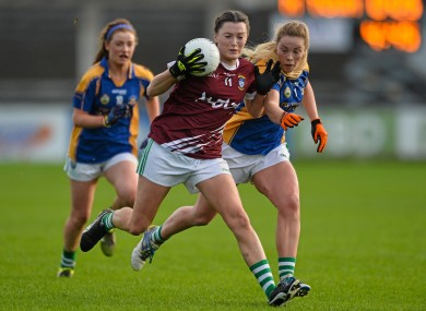 Ruth Kearney had an excellent game for Milltown.