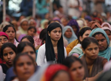 A protest against rape and violence against women in Rohtak in 2012