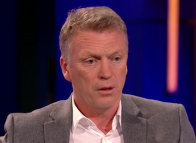 Moyes speaking on The Clare Balding Show.
