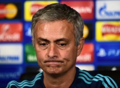 Jose Mouinho's future is in doubt.