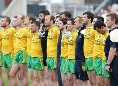 Donegal have replaced their old jerseys with a new kit and sponsors.