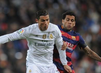 Real Madrid v Barcelona.