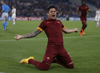 The 22-year-old played in six of Roma's Champions League games this season.