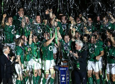 Will Ireland be lifting the Six Nations trophy again this year?