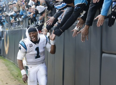 Newton and the Panthers are 20-2 since his accident.