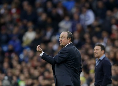 Benitez has been replaced by Zinedine Zidane as Real Madrid manager.