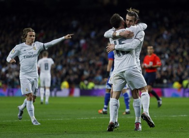 Bale was in brilliant form as Real ran riot.