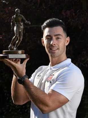 Richie Towell has been rewarded for a sensational season with Dundalk.