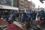 Gardaí with batons step in as anti-Islam group and opposing group meet on O'Connell Street