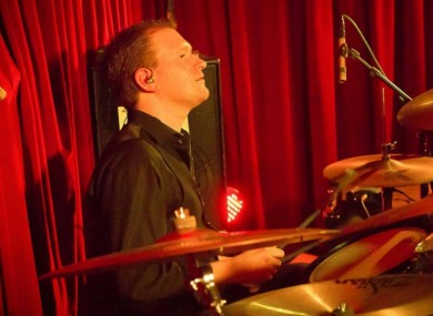 Niall Dennehy of The Art Crimes band. Photo courtesy of Virginia Thomas Photography.