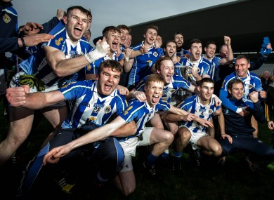 Sweetest thing: Ballyboden beat Portlaoise to win their first Leinster club title.