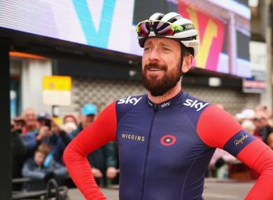 Suspicions: British cyclist Bradley Wiggins.