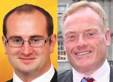Sinn Féin's Paul Hogan and Fine Gael's James Bannon